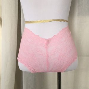 VS lace pink very sexy panties S